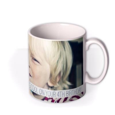 Image Photo Upload and Personalised Text Mug