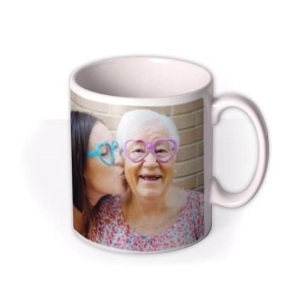 Personalised Text and Photo Upload Mug