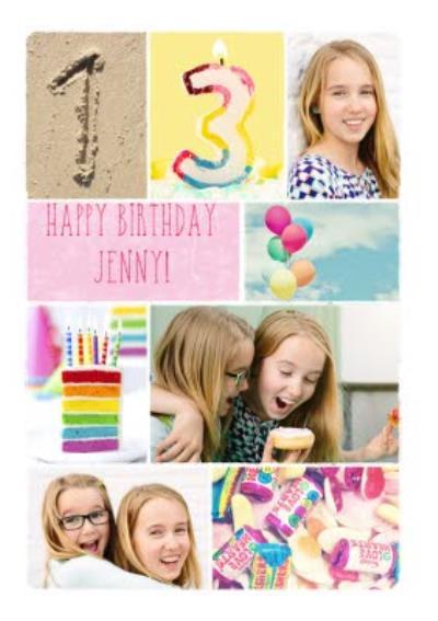Photo 13th Personalised Birthday Card.