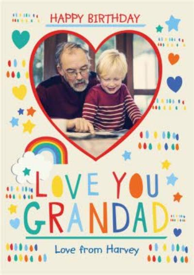Happy Birthday Grandad - Birthday Card For Grandad