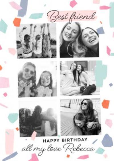 Best Friend Photo Upload Postcard