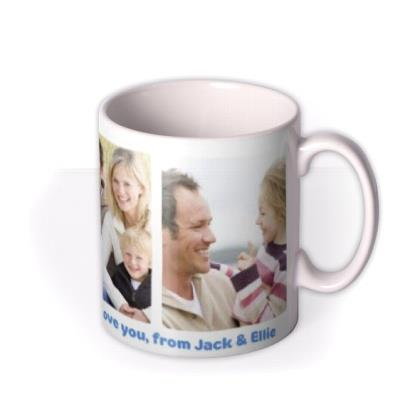 Father's Day Greatest Dad Photo Upload Mug
