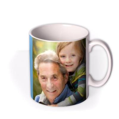 Father's Day World's Best Grandad Photo Upload Mug