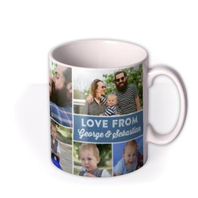 Father's Day No.1 Dad Photo Upload Mug
