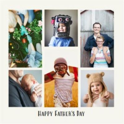 Square Father's Day Card - Photo Upload Card