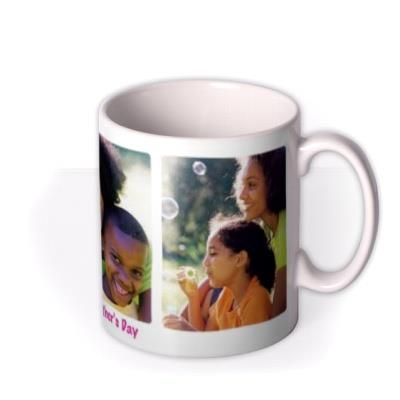 Image Trio Photo Upload Mug