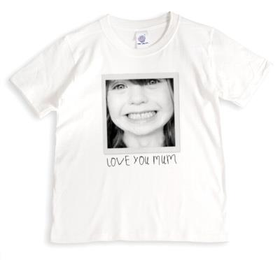 Mother's Day Photo Upload T-shirt