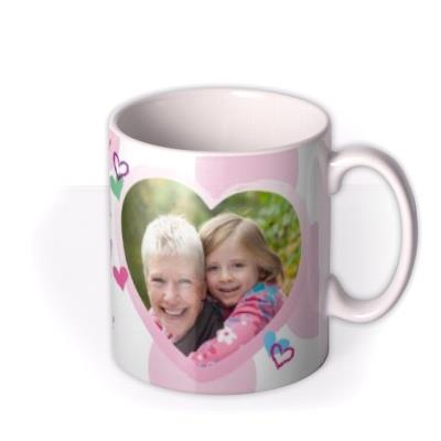 Mother's Day Grandma Crayon Photo Upload Mug