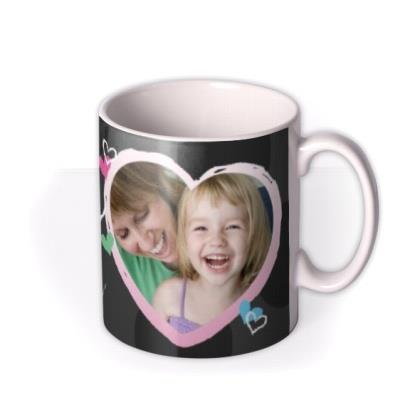 Mother's Day Mummy Crayon Photo Upload Mug