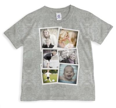 Photo Collection Photo Upload T-shirt