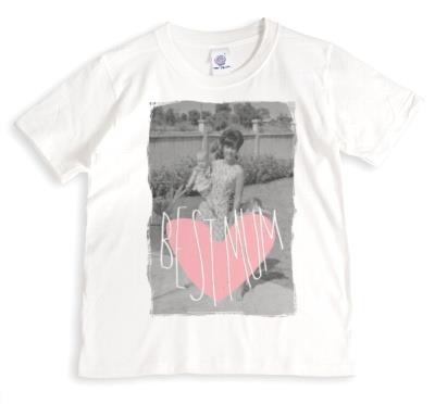 Mother's Day Best Mum Heart Personalised T-shirt