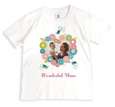 Mother's Day Wonderful Photo Upload T-shirt