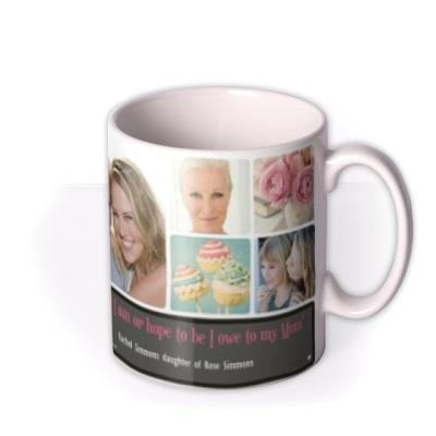 Mother's Day Mum Collage Photo Upload Mug