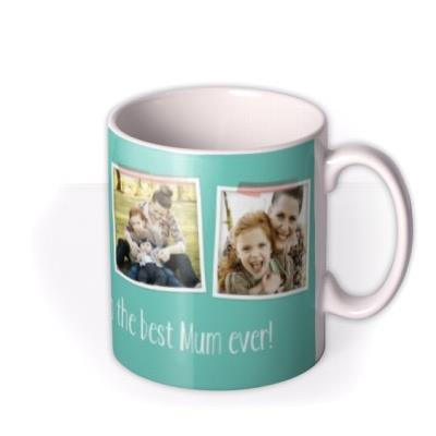 Mother's Day Blue Photo Upload Mug