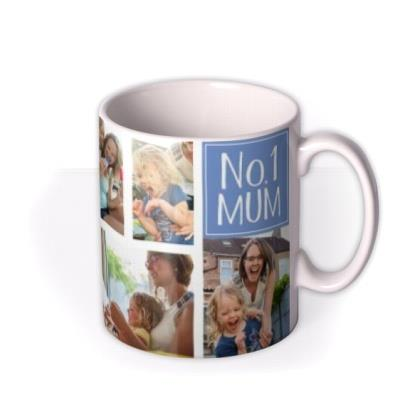 No.1 Mum Photo Upload Mother's Day Mug