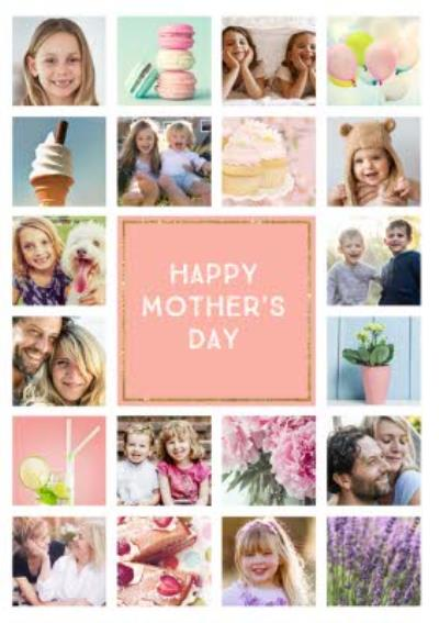Mother's Day Card - Photo Upload Card - 20 Photos