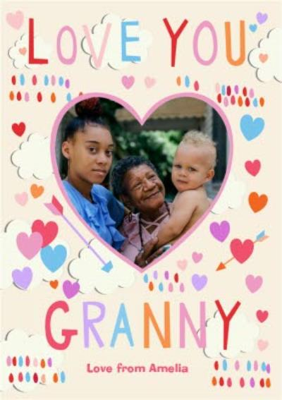 Mother's Day Card - Love you Granny - Photo Upload
