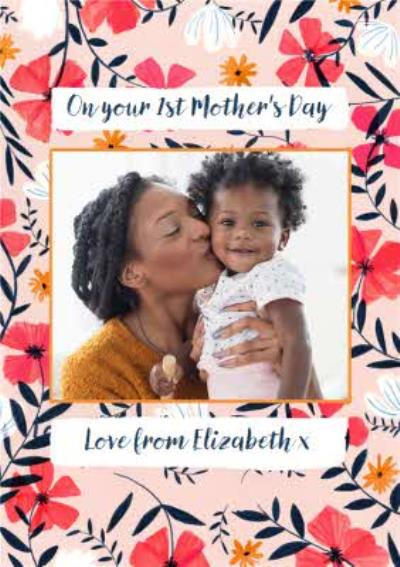 On Your First Mothers Day Photo Upload Mothers Day Card