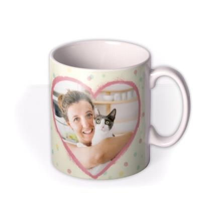 Mother's Day mug - pet mum - from the cat - photo upload