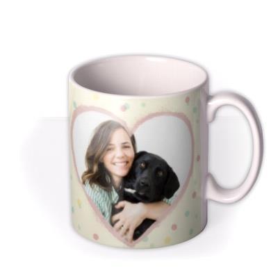 Mother's Day mug - pet mum - from the dog - photo upload