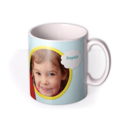 Rainbow Photo Upload Mug