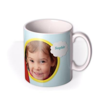 Rainbow Photo Upload Mug