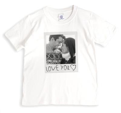 Valentine's Day Photo Upload T-shirt
