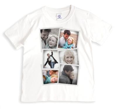 Collage Photo Upload T-shirt