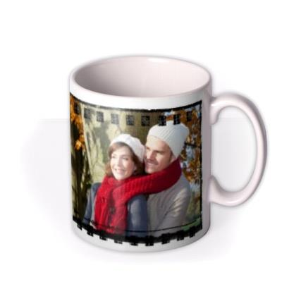 Film Strip Photo Upload Mug