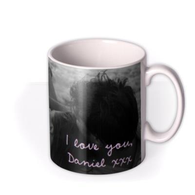 Valentine's Day Tummy Feel Weird Photo Upload Mug