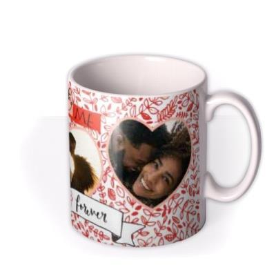 You & Me Always & Forever Photo Upload Mug