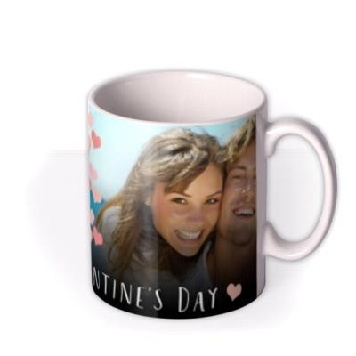 Valentine's Day Double Photo Upload Mug