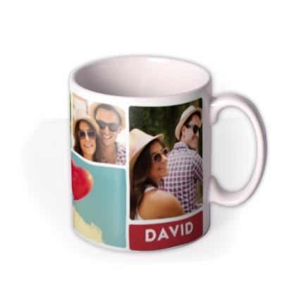 Valentine's Day Photo Collage Mug