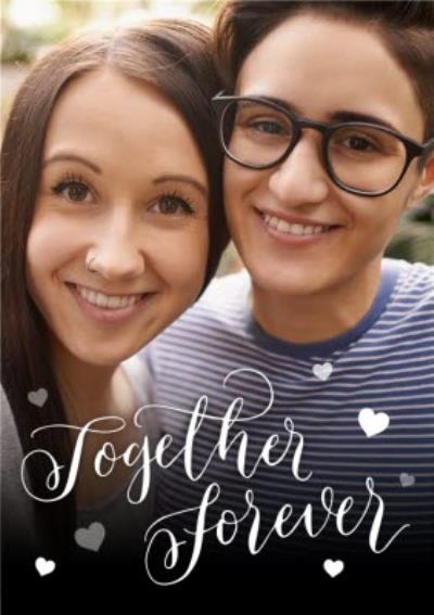 Together Forever Photo Upload Card