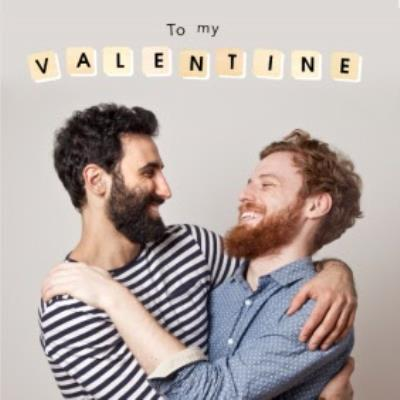 To My Valentine Personalised Photo Upload Card