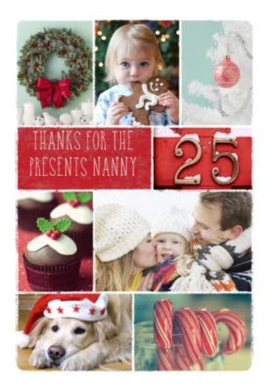 Personalised Text And Multi-Photo Christmas Card