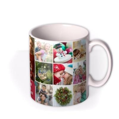 To Our Mummy Multiple Photo Upload Christmas Mug
