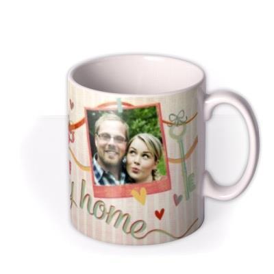 Happy Home Photo Upload Mug