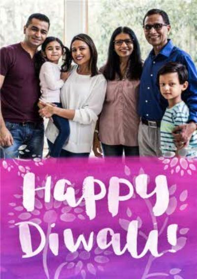 Happy Diwali Photo Card