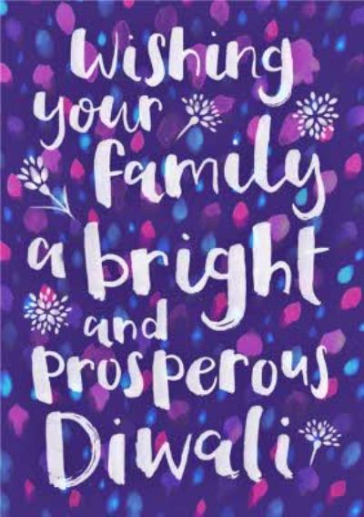 Diwali Message Card