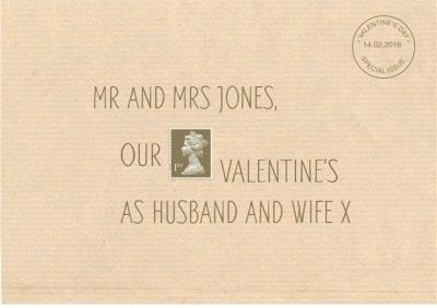 Royal Mail Our 1St Valentines Card