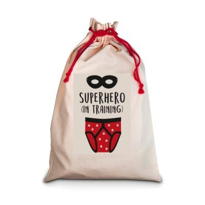 Personalised Superhero Laundry Bag
