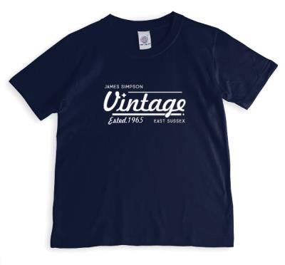 Personalised Est. Vintage T-Shirt
