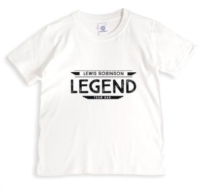 Personalised Legend T-Shirt