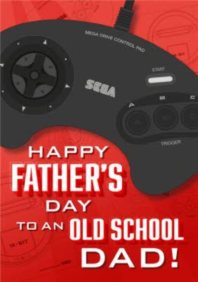 Happy Fathers Day To An Old Schol Dad Card