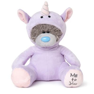 Me To You Purple Unicorn Tatty Teddy 19cm