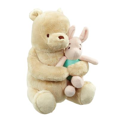 Winnie the Pooh and Piglet Lullaby Soft Toy 22cm