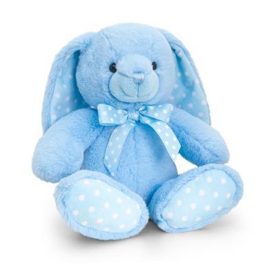 Baby Blue Rabbit Soft Toy 25cm