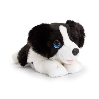 Cute Border Collie Puppy Soft Toy 32cm
