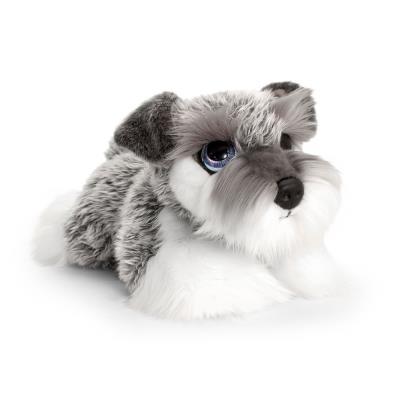 Cute Miniature Schnauzer Puppy Soft Toy 32cm